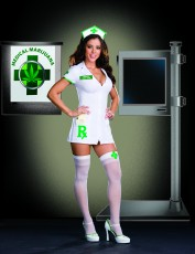 Womens Paramedic Costume - Nurse Mary Jane