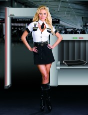 Womens Airport Security Costume - Airport Police