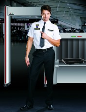 Mens Airport Security Costume - Airport Police