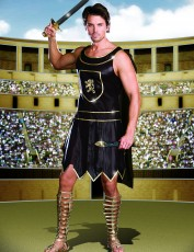 Mens Gladiator Costume - Warrior King