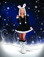 Womens Winter Bunny Outfit - Hip Hop