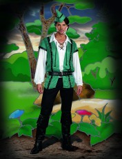 Mens Robin Hood Costume - Gangster