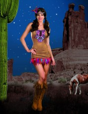 Womens Indian Costume - Tribal Vibe