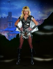 Womens Gladiator Costume - Metal Fairytale