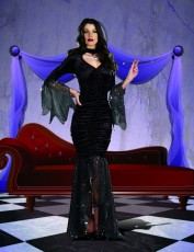 Womens Gothic Ghoul costume - Mystery Mistress