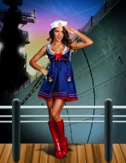 Womens Sailor Girl Outfit - Sailor Mine