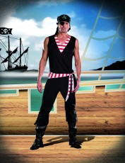 Mens Pirate Costume - Ahoy Captain