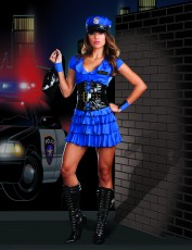 Womens Policewoman Outfit - Late Night Police