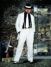 Mens Gangster Costume - Zoot Suit