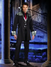 Mens Dracula Costume - Vampire Count