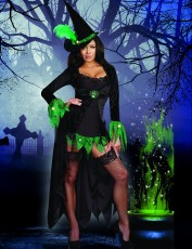 Womens Witch Costume - Irish Witch Outfit