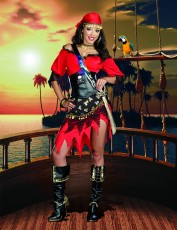Womens Pirate Outfit - Rum Punch Pirate