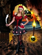 Womens Sexy Pirate Costume - Pirate Passion