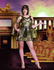 Womens Egyptian Costume - Naughty Nile (Plus)