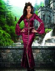 Womens Sexy Camelot Costume - Fairytale