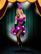 Womens Burlesque Costume - Oh La La