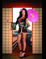 Womens Sexy Asian Costume - Persuasion