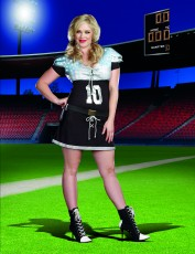 Womens Cheerleader Outfit - American Football (Plus Size)