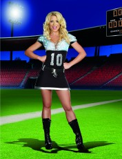 Womens Cheerleader Outfit - American Football