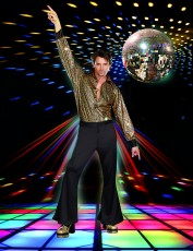 Mens 70s Costume - Stayin' Alive