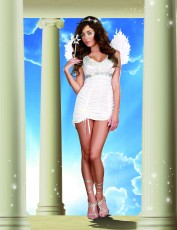 Womens Angel Costume - White Angel