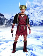 Mens Viking Costume - Warrior