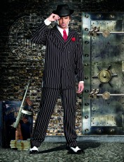 Mens Gangster Costume - Mobster