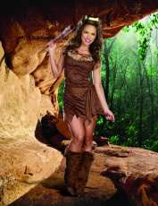 Womens Cavewoman Outfit - Clubbin'
