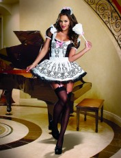 Womens French Maid Costume - Maid to Order