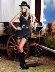 Womens Cowgirl Costume - The Sherrif