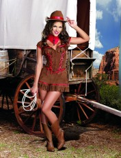 Womens Cowgirl Costume - Giddy Up