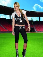 Womens American Football Costume - Tackle U