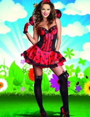 Womens Ladybird Costume - Just Buggin'