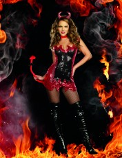 Womens Devil Outfit - Hell with That
