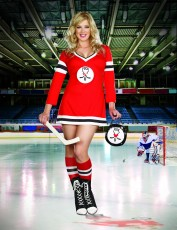 Womens Ice Hockey Costume - Sports Outfit (Plus Size)