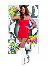 Womens Wonder Woman Costume - Superwoman Outfit