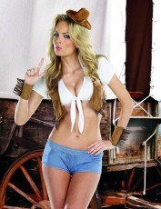 Womens Cowgirl Costume - Sexy Cowgirl