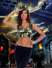 Womens Soldier Outfit - Sexy Soldier Costume