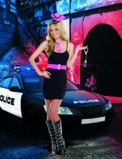 Womens Policewoman Outfit - Sexy Sheriff