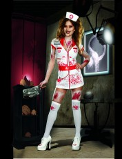 Womens Zombie Costume - Nurse Nightmare