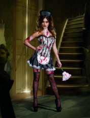 Womens Zombie Costume - Frenchmaid Manic