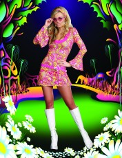 Womens 60s Costume - Go Go