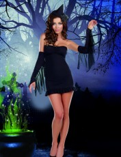 Womens Witch Outfit - Sexy Wicked Witch