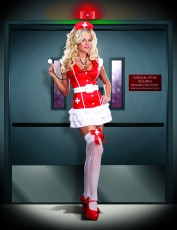 Womens Sexy Nurse Costume - Vital Signs