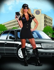Womens FBI Agent Costume - Secret Police