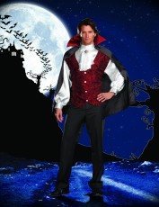 Mens Vampire Costume - Fun Dracula