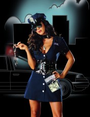 Womens Policewoman Outfit - The Corrupt Cop
