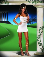Womens Greek Godess Costume - OMG