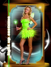 Womens Pixie Costume - Bright Sprite