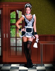 Womens Sexy French Maid Costume - Parisian